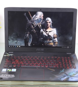 Asus GL552VW (Gaming), Core I5-6300HQ, 2VGA-Card Rời GTX 4gb, Máy Like New 99%, Full Box, Nguyên Zin