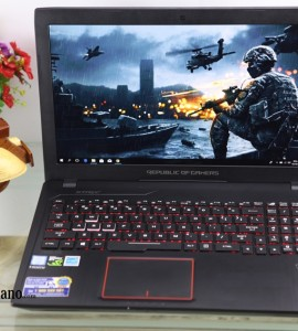 Asus GL553VD (Gaming), Core I7-7700HQ, 2VGA-Nvidia GTX 1050 4gb, MH Full HD, Nguyên Tem Zin