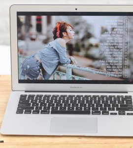MacBook Air (13-inch Mid 2013, MD760), Core I5-4250U, Máy Like New, Vỏ Nhôm 1,35kg, Xách Tay USA – Zin 100%
